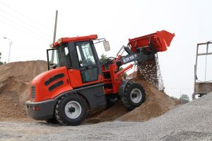 ER15 Multi-Function Wheel Loader With 4in1 Bucket pictures & photos