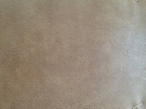 Grain Luggage Leather with High Quality