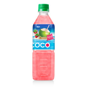 500ml Pet Bottle Coconut Water with Strawberry pictures & photos