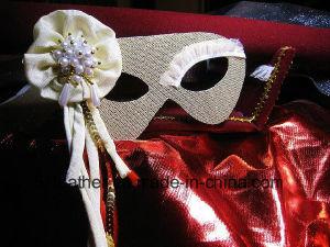 Muliti-Color Personal Decoration Party Turkey/Ostrich Venice Feather Masks pictures & photos