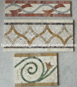 Marble Stone Mosaic Border (STP93) pictures & photos