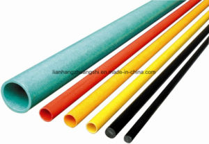 FRP Taper Hollow Rod FRP Pipe/Fiberglass Pole/Tube pictures & photos