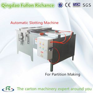 Small Box Making Machine Board Slotting Machine for Cardboard Boxes pictures & photos