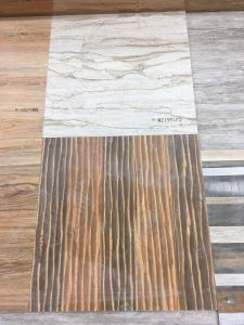 Inkjet Anti-Slip Square Wood Look Rustic Ceramic Floor Tile pictures & photos
