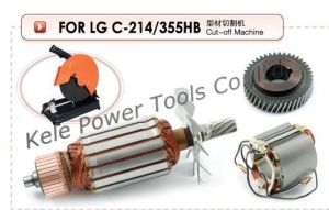 Armature, Stator, Gear Sets for Power Tools LG 355hb pictures & photos