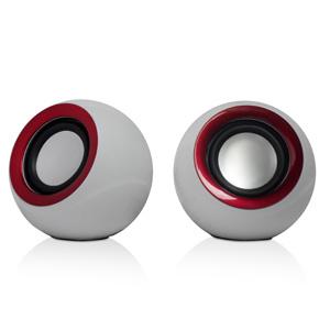 Mini Speaker for MP3 / MP4 (S15 - RED)