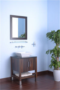 PVC MDF Solid Wood Bathroom Cabinet Bathroom Vanity