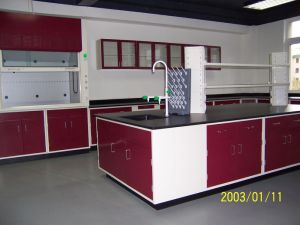 Lab Furniture - Full Steel Central Bench