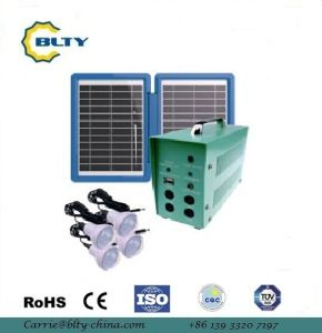 off Grid Solar Power System Solar Lighting Kit pictures & photos