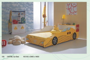 Car Bed (Yellow) (105)