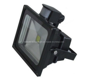 Black/Grey LED Flood Light with PIR Sensor pictures & photos