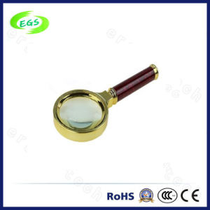 5X Portable Mini Multi-Functional Magnifier Lamp/Lens, High Quality Metal Handheld Reading Magnifier (EGS-SZ-83HS) pictures & photos