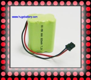 7.2V AAA 800mAh Ni-MH Rechargeable Battery pictures & photos