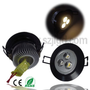 High Power LED Recessed Ceiling Down Light (GL-CL-3W3S1)