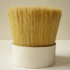 White Boiled Bristle for Brushes
