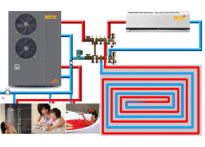 for Floor Heating All in One Cooling and Heating Heat Pump pictures & photos