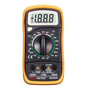 2000 Counts Mas830 LCD Display Digital Multimeter