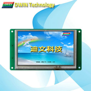 "Industrial 5.0"" Uart TFT LCD Module/HMI, Touch Screen Optional, Dmt48270t050_01W"