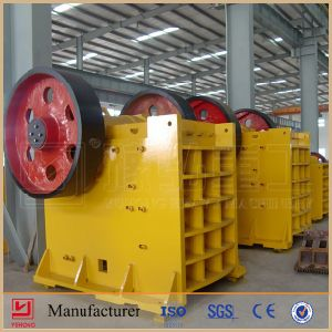 China Yuhong ISO9001 & CE Approved Jaw Crusher Price List pictures & photos
