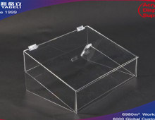 Acrylic Clear Angled Food Display, Food Box pictures & photos