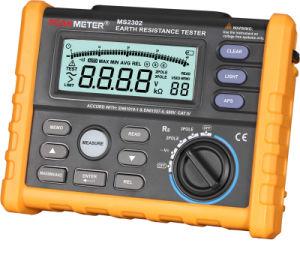 Digital Ms2302 Earth Resistance Tester Meter