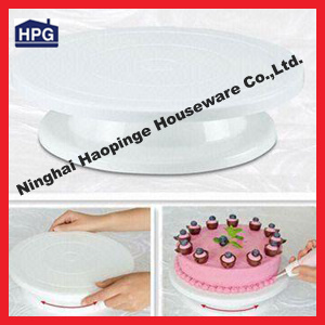 Plastic Rotating Icing Revolving Cake Decorating Turntable (professional supplier) (SY-R53)