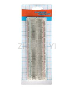 830 Points Transparent Solderless Breadboard (ZYJ-102)