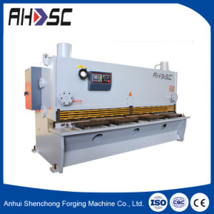 Rolled Plate Hydraulic CNC Cutting Machine (QC11Y-8X3200) pictures & photos