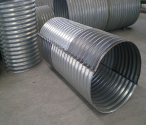 Flanged Corrugated Steel Pipe