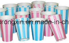 Cold Drinking Color Cup Paper pictures & photos