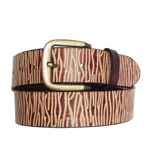 Embossing Style Fashion PU Belt (KY1523) pictures & photos