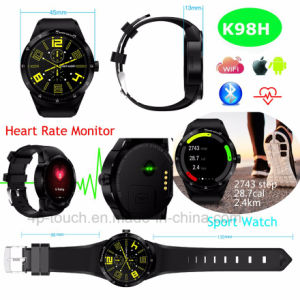 Newest 3G Fashionable Smart Watch with Heart Rate Monitor K98h pictures & photos