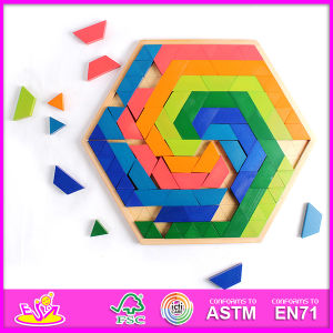 2014 New Children and Popular High Quality Baby Hot Sale Wooden Kids Puzzle Toys W13A031 pictures & photos