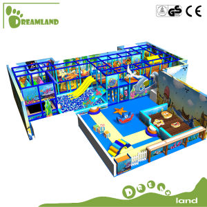 EU Standard Popular Large Size Plastic Indoor Playground Equipment pictures & photos