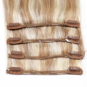 Brazilian Hair Clip in Hair Extension pictures & photos