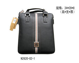 Genuine Leather Men′s Handbag (N2620-02-1)