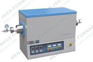 Three Zone 1700c Alumina Tube Furnace with Vacuum Flanges pictures & photos