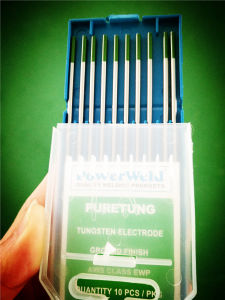 Argon Arc Welding 99.98% Pure Tungsten Electrodes pictures & photos
