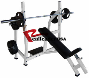 Fitness Gym Equipment for Olympic Incline Bench (FW-2002) pictures & photos
