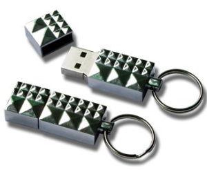 Diamond Shaped USB Flash Drive (FD031)