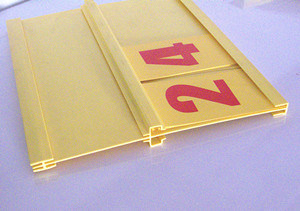 Display Price Sign Holder pictures & photos