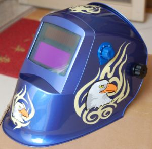 Auto-Darkening Welding Helmet Li-Mi & Solar Combination (S8001) pictures & photos