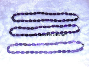 Fashion Semi Precious Stone Crystal Beaded Necklace Jewelry Sets <Esb01385> pictures & photos