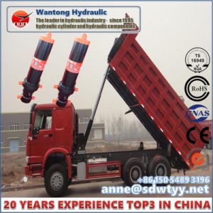 Horizontal Direction Hydraulic Cylinder for Truck pictures & photos