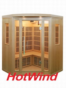 2016 Far Infrared Sauna Room Portable Wood Sauna for 3-4 People (SEK-BT3C) pictures & photos