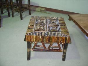 Bark Wooden-Tea Table