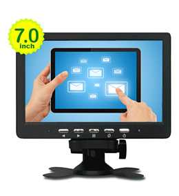 7-Inch Resistive Touch Panel LCD Monitor with VGA Input (VV-T-70A)