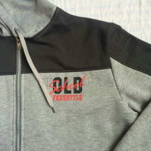 Men Leisure Fashion Fleece Longline Hoodies in Adult Clothes Fw-8662 pictures & photos