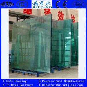 4-12mm Clear Tempered Glass with CE & ISO & CCC Certificate