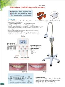 CE Passed LED Teeth Whitening Machine Manufacturer pictures & photos